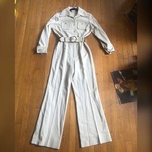 1970s Vintage Polyester Jumpsuit Sz SM